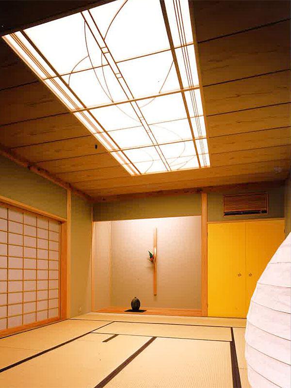 高松の家 和室