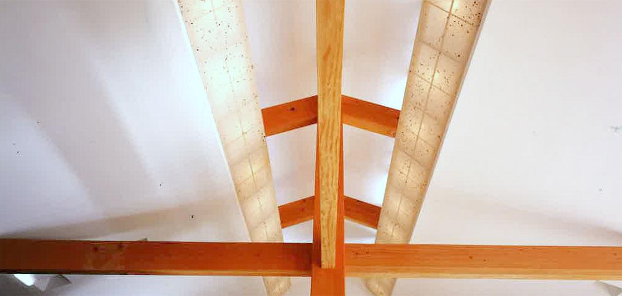高松の家 天井