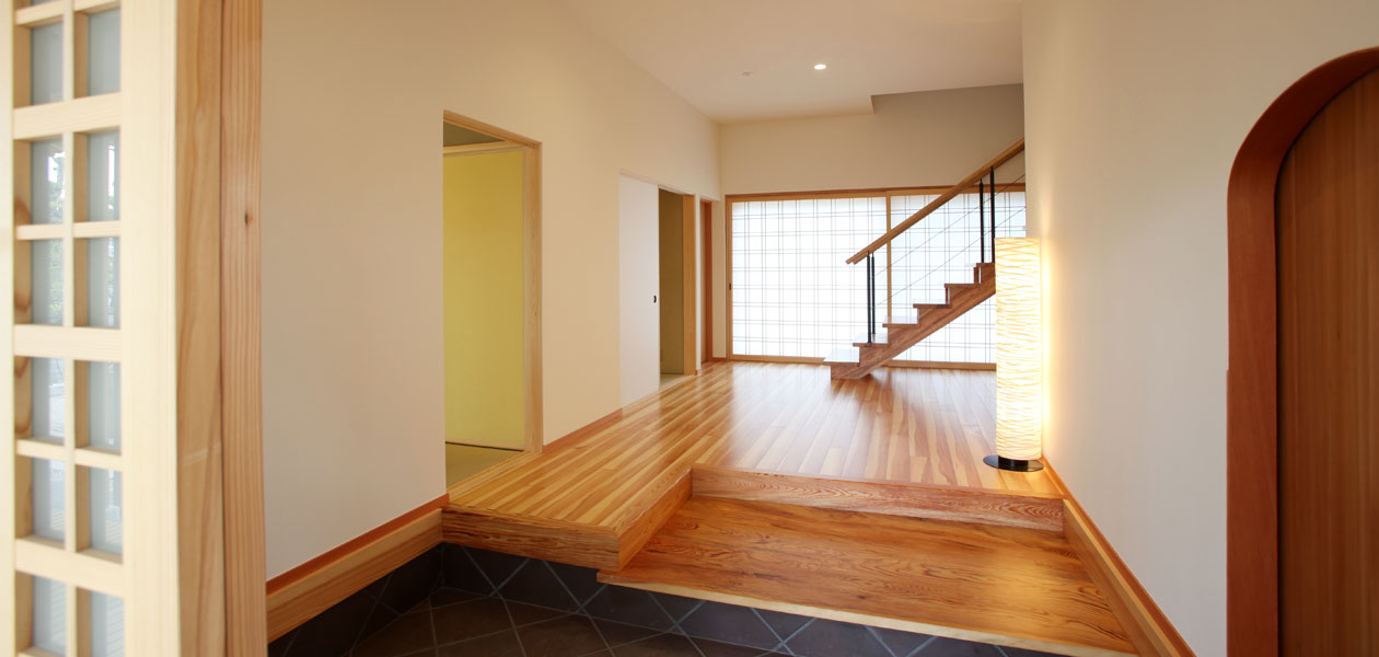 高松の家2エントランス
